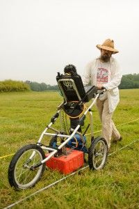 From 3D imaging and printing to ground penetrating radar and photogrammetry, UA archaeologists and researchers have recognized the importance of using these tools of the future to better understand the past. 1508128_MW_gpr_project