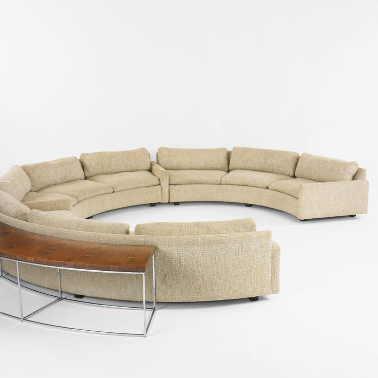 Milo Baughman sectional sofa with table Milo Baughman Pinterest Sectional sofa Mid century and Mid century modern