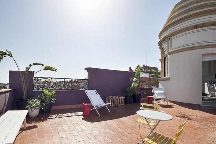 Good Morning! presentamos elterrado by thesuites BARCELONA, un área de relax, descanso, lectura, tomar el sol... muy pronto! #barcelona #elterrado #therooftop #barcelona #thesuites #nohotels
