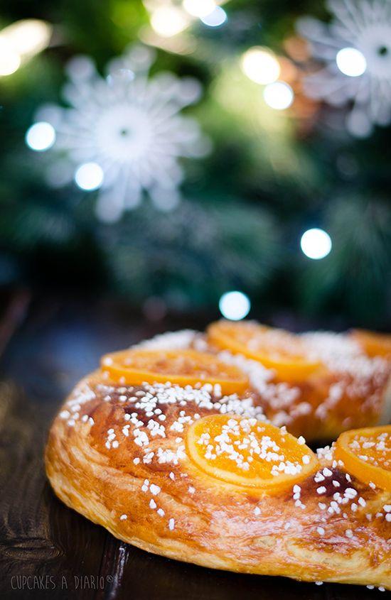 Christmas cake (roscón de Reyes)