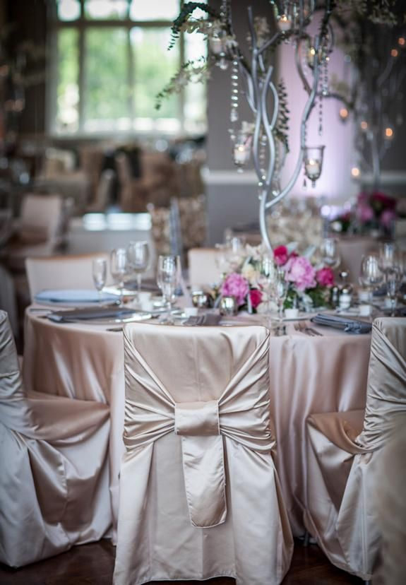 22 best linen effects all about the chairs images on for Table linen color combinations