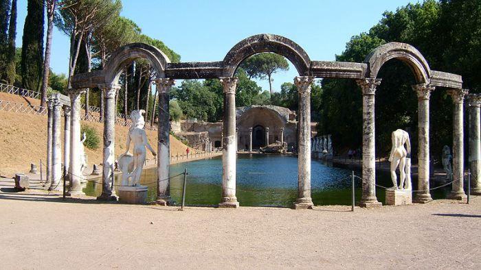 Bezoek de vakantievilla's van de Romeinse keizers in Tivoli