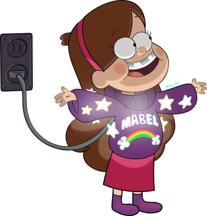 O brilhante casaco de Mabel.