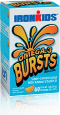 All natural Omega Bursts - Omega 3's in liquid gel!