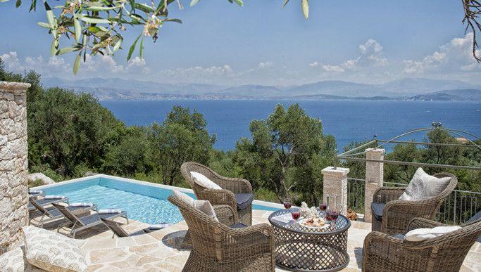 Villa Jacaranda House, Kalamaki, Perithia & Agios Ioannis | Family villa & Designer/chic villa | CV Villas