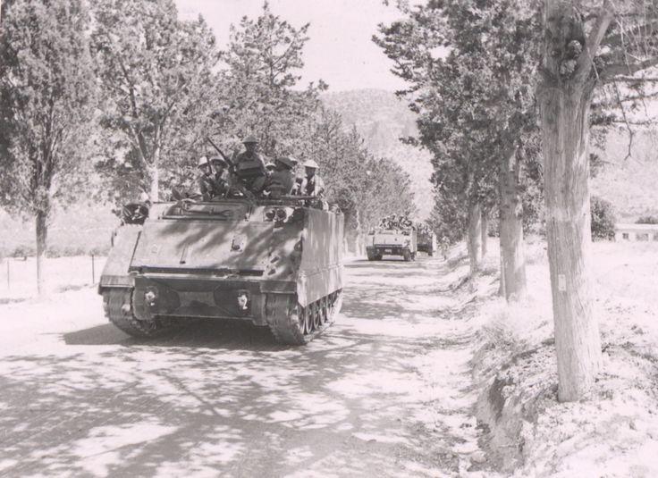 Harekâta Katılan Zırhlı Personel Taşıyıcılarımız 123 (Cyprus Peace Operation)