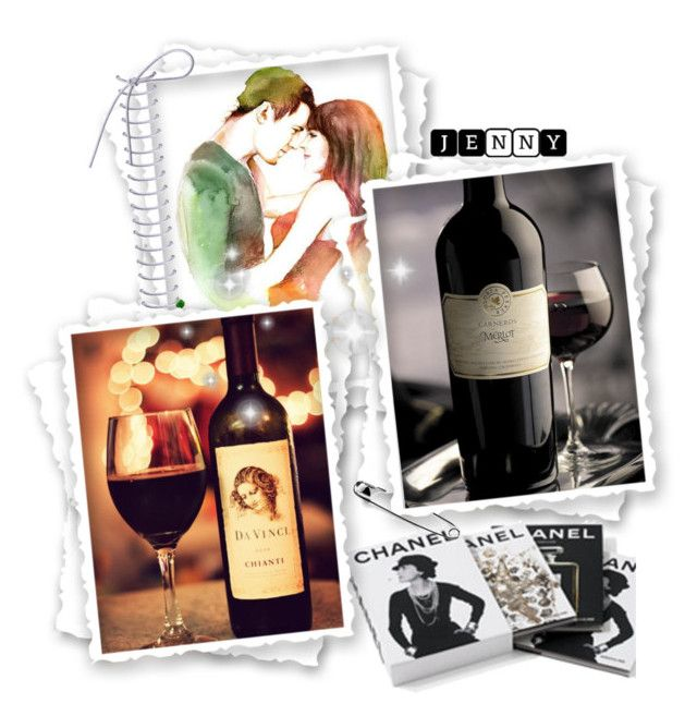 """""""Davinci Chianti and Merlot red wine"""" by smile2528 ❤ liked on Polyvore featuring art"""