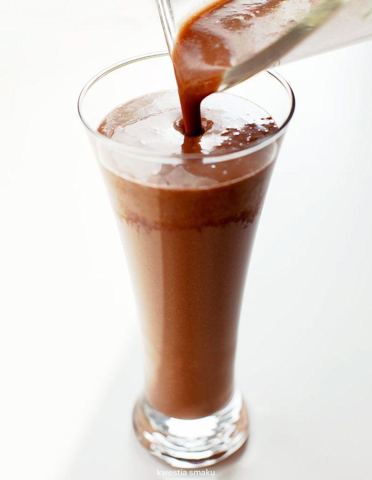 Kakaowo-kawowe bananowe smoothie