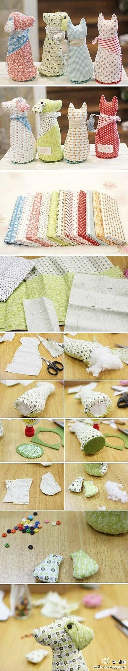 Seems to be really easy to do, and they're really cute!