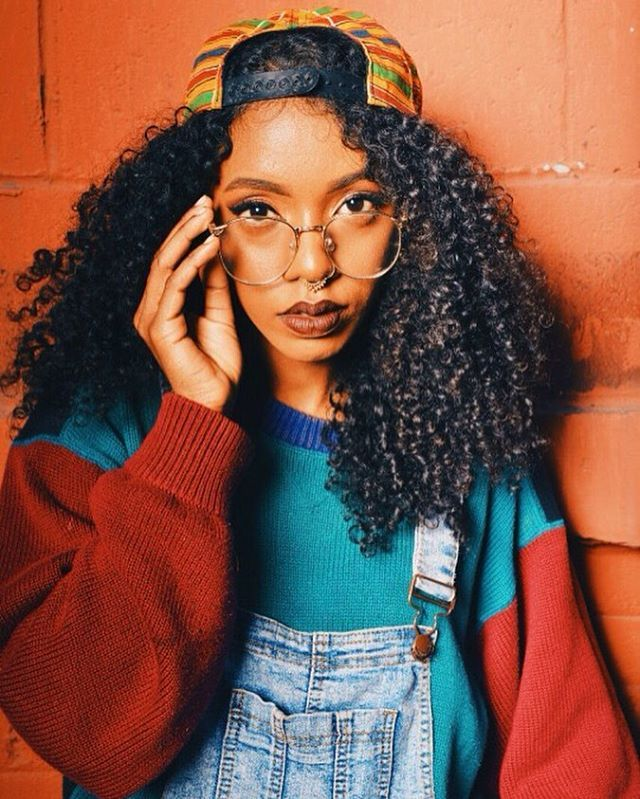 Curly hair   Fall Fits