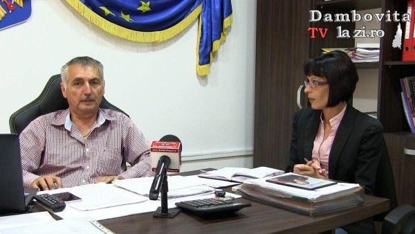 Primarul Florea Mușat vorbește despre stadiul proiectelor de dezvoltare a comunei Băleni   Dambovitalazi.ro