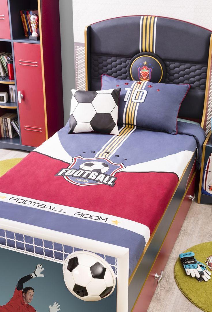 tagesdecke set champion 3 tlg kinderzimmer. Black Bedroom Furniture Sets. Home Design Ideas