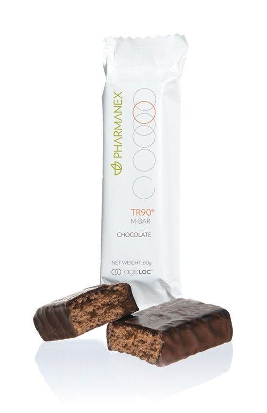 Encuentralos con AntiAge Barcelona / TR90 M-bars Chocolate, pack de 30 - Sustitutivo de una comida completa