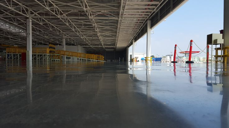 Toyota Manufacturing Floor Polished Concrete