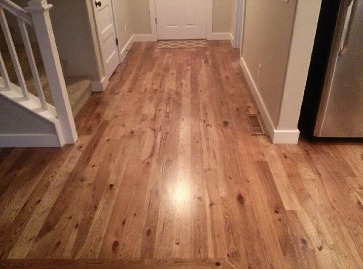 Custom Hickory Hardwood Flooring With A Darker Stain   Capell Flooring And  Interiors In Meridian,
