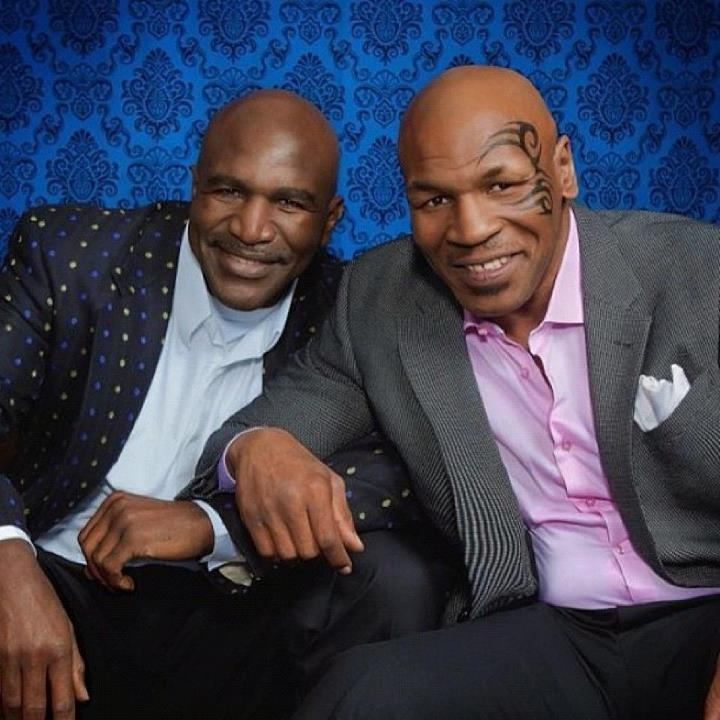 Both Mike Tyson and Evander Holyfield