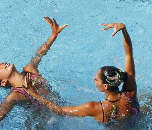 2016 Rio Olympics - Synchronised Swimming - Duets Free Routine - Final - Maria…
