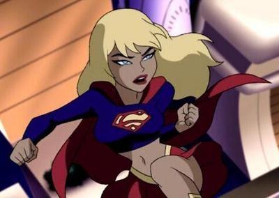 """Supergirl:  """"Justice League Unlimited.""""  Kara Zor El is SO adorable!!!"""