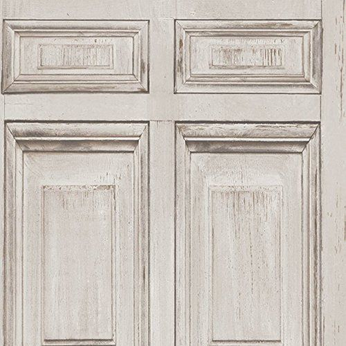 Muriva Wood Frames Pattern Painted Distressed Wooden Panel