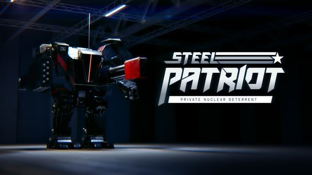 Introducing: Steel Patriot - the private nuclear deterrent!  In a world where everything, down to a country's nuclear defense program, has been privatised, the responsibility of deterrence theory falls on the citizens. This commercial provides a dark insight to such an exitence.  Made in Cinema 4d, rendered with Octane and composited in After Effects.  Voiceover by Jack Roberts.  www.mografik.com