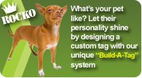 The Tag Studio - we offer engraved pet id tags, dog ID tags and cat ID tags using the best materials on the market.