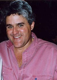"""James Douglas Muir """"Jay"""" Leno (born April 28, 1950)[3] is an American comedian and television host. He was the host of NBC's The Tonight Show with Jay Leno from 1992 to 2009. Beginning in September 2009, Leno started a primetime talk show, titled The Jay Leno Show, which aired weeknights at 10:00 p.m. ET, also on NBC."""
