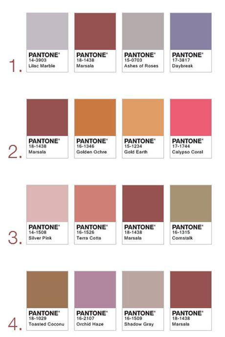 17 meilleures idées à propos de Pantone sur Pinterest