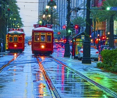 Canal StCable Cars, New Orleans,  Trolley Cars, Louisiana,  Tramcar, The Cities, Amazing Places, Street Cars, Streetcar