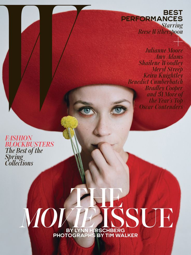 Best Performances February 2015: See All 7 W Magazine Covers - Reese Witherspoon