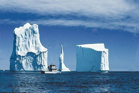 Iceberg Alley in Newfoundland