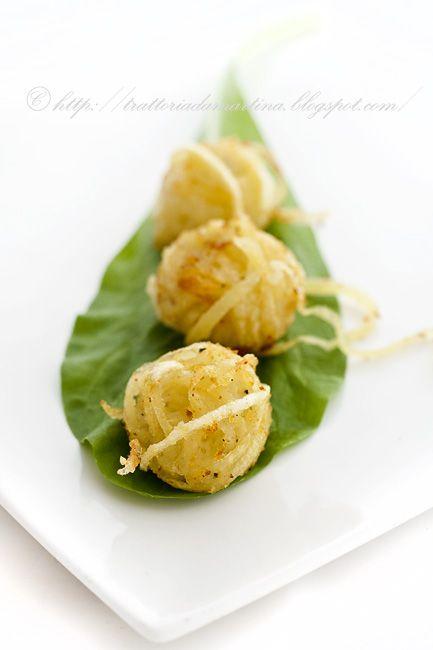 Gomitolini di patate: Trattoria da Martina