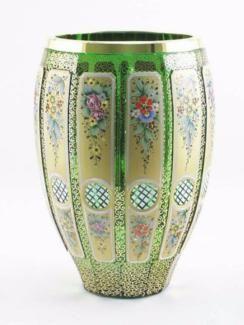 Böhmische Glasvase,Kristallvase,Egermann Kristall,Böhmisches glas in Frankfurt (Main) - Altstadt | Kunst und Antiquitäten gebraucht kaufen | eBay Kleinanzeigen