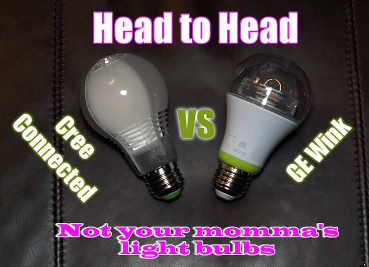 Cree Connected vs GE Wink Smart Bulbs Banner