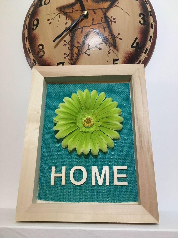 Handmade Frame Display - Home - Letter Art - Flower Art - Rustic Rugged Home Decor - Newfoundland & Labrador - SALTY AIR INSPIRATIONS by SaltyAirInspirations on Etsy https://www.etsy.com/ca/listing/557398619/handmade-frame-display-home-letter-art
