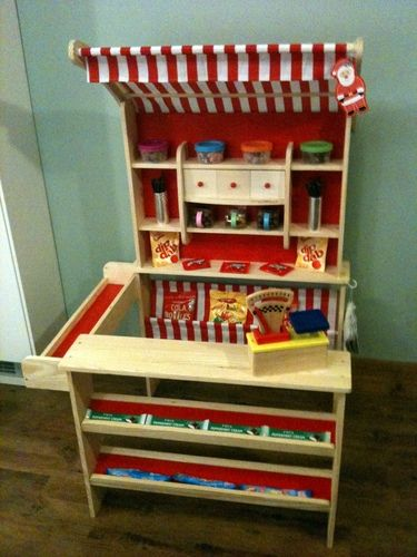 Customer Image Gallery for wooden toy shop with awning 47463 by howa