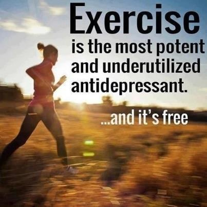 Don't underestimate the power of exercise!