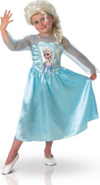 Disney™  koffer verkleedkostuum Elsa Frozen™ voor meisjes online beschikbaar bij de meest gekende feestwinkel Vegaoo.nl aan een aanlokkelijke prijs.