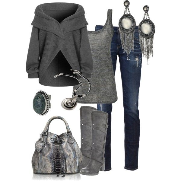 """Untitled #202"" by alison-louis-ellis on Polyvore: Woman Fashion, Fashion Ideas, Dreams Closet, Style, Fall Outfits, Winter Outfits, Grey, Fall Fashion, Gray"