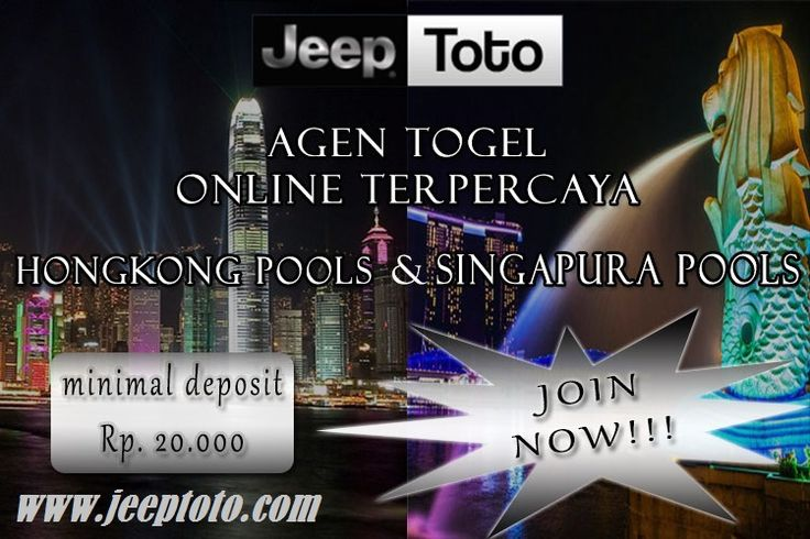 Agen Togel Singapura Jeeptoto