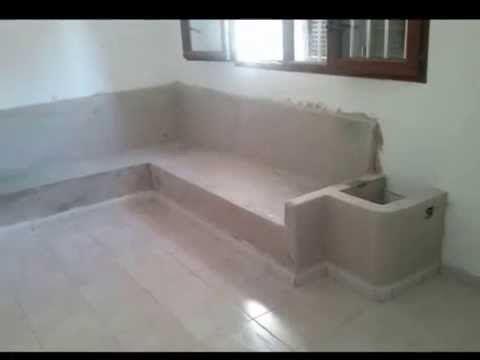 Como hacer un sof de obra muebles de obra pladur for Muebles de pladur
