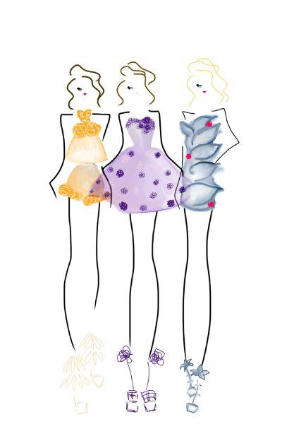 Wearing Flowers (image 2) #fashion #art #bybc