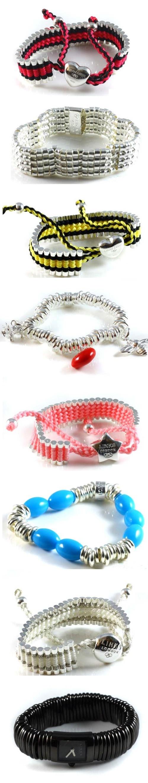 Venture mens black leather bracelet men bracelets links of london - Links Of London Bracelets
