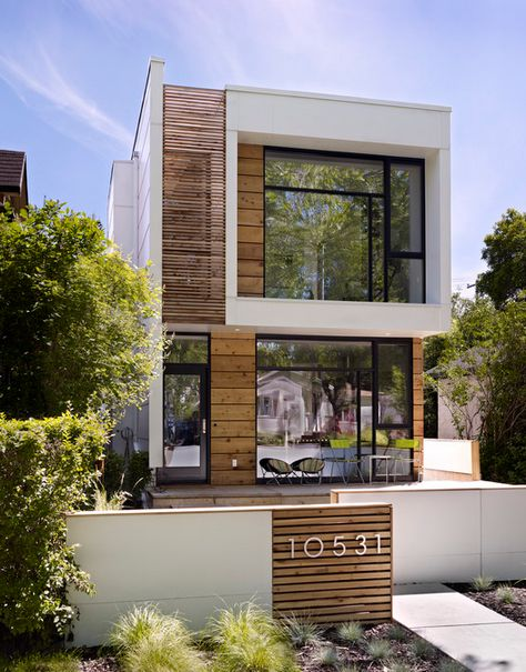 Always am inspired by modern homes. My dream house would be a modernized town home.