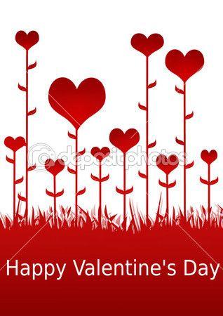 Feliz día de San Valentín ilustración — Imagen de stock #2073754