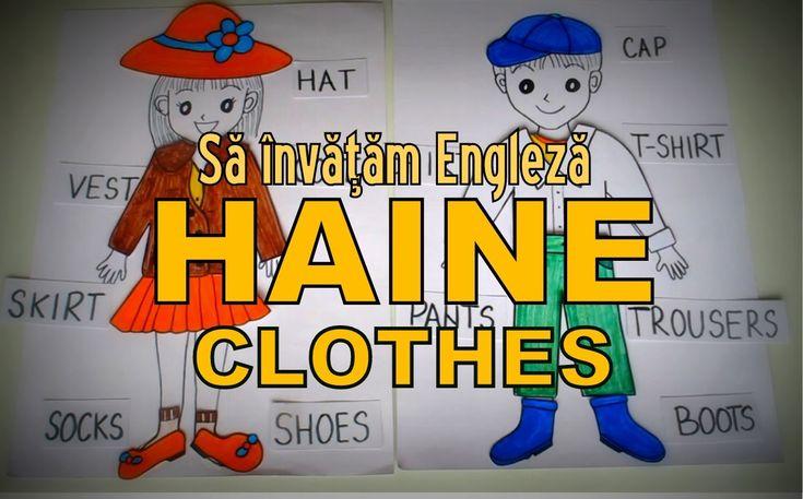 Sa invatam engleza - HAINE/CLOTHES - Let's learn English!