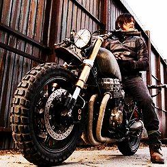 """The Walking Dead 5x14 """"Spend"""" Daryl Dixon new bike!"""