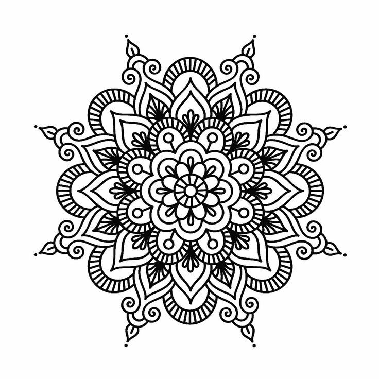 Mandalas Mandalas Mandala Gemalde Mandala Tatowierung Mandala Zum Ausdrucken