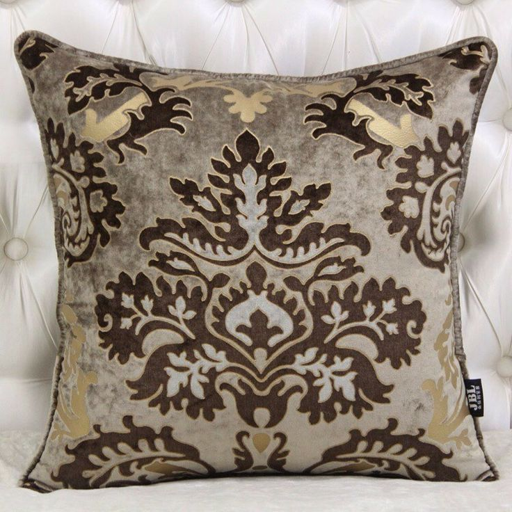 Sofa Decoration European Antler Velvet Pillow Cover Pattern Diaoyin Car Cushion Bed With