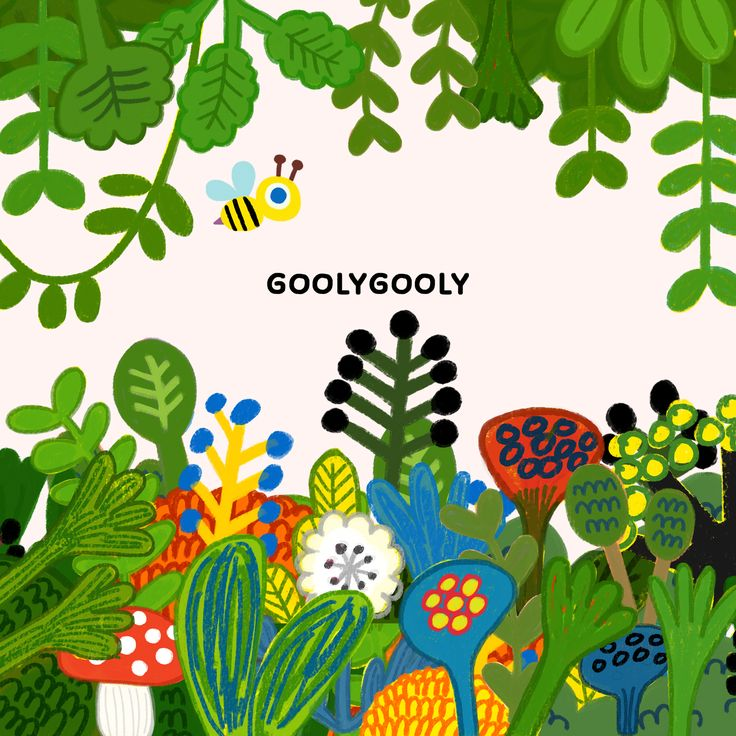 봄 / spring 굴리굴리 일러스트 goolygooly