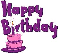 Free Animated Birthday Cards and Gifs Page 4, Free Birthday Animations and Clipart